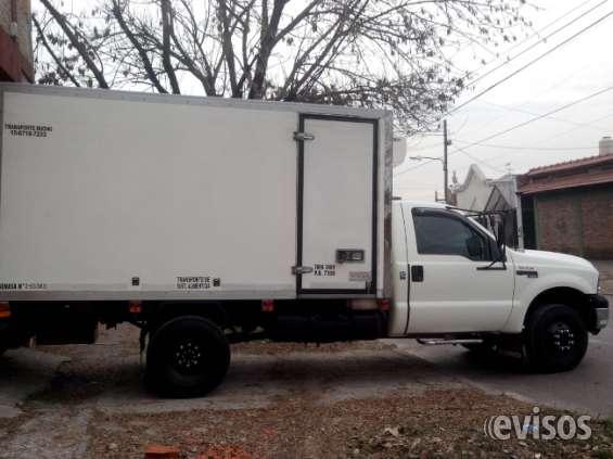 Fletes y reparto con furgon termico y equipo de frio