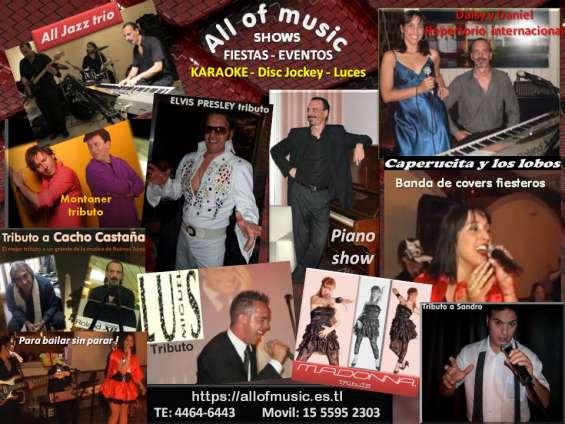 Shows musicales para fiestas