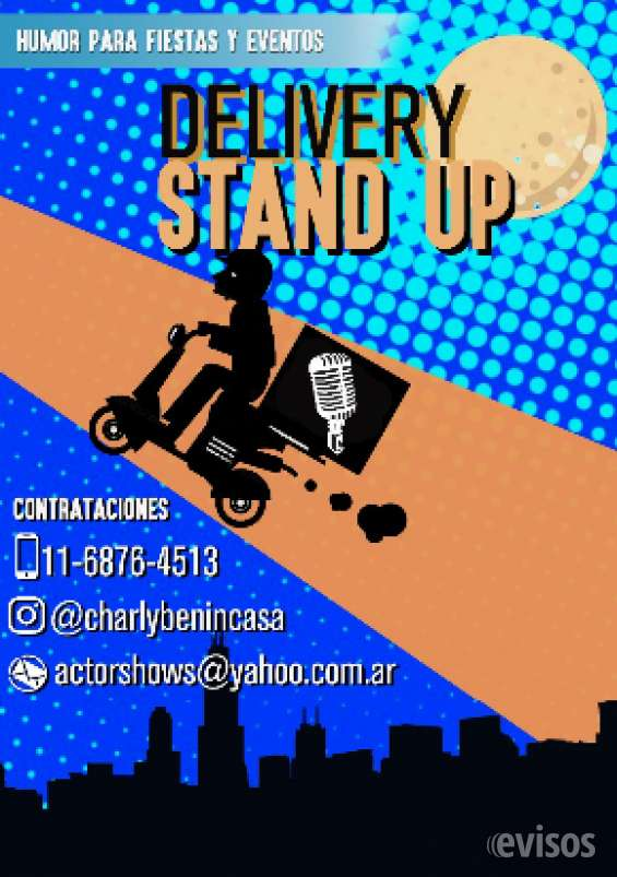 Stand up para fiestas y eventos de8 adultos