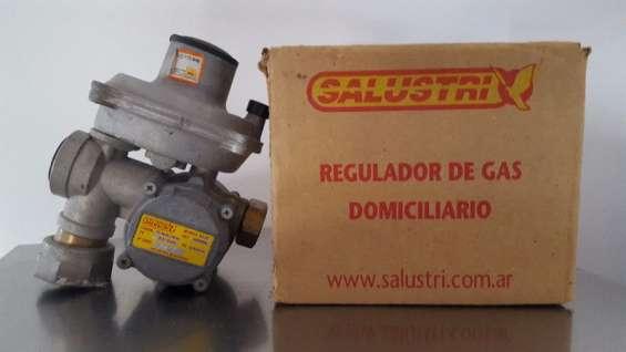 Regulador de gas natural salustri 25m3/h