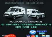 Agencia incorpora camionetas URGENTE !!