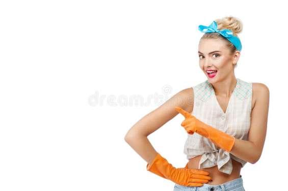 Solicito urgente chica para limpieza