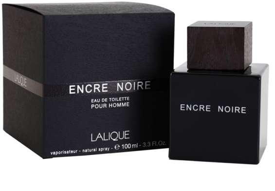 Perfume lalique encre noire x 100ml con caja y celofan