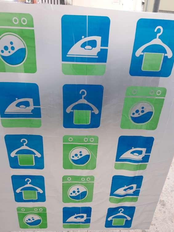 Bolsas para tintorerias, lavanderias