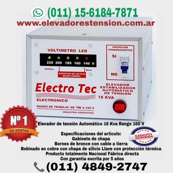 Elevador de tension 10000 watts 12000 watts 14000 watts 16000 watts