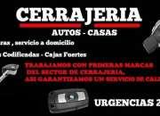 4460-6364 Cerrajería 24HS - Cerrajeros a domicilio en Saenz Peña