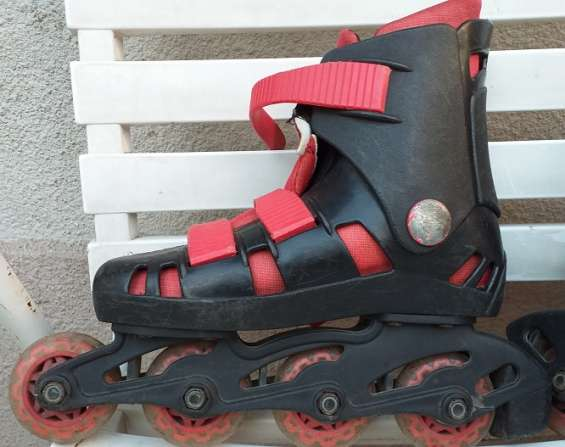 Vendo rollers talle 33
