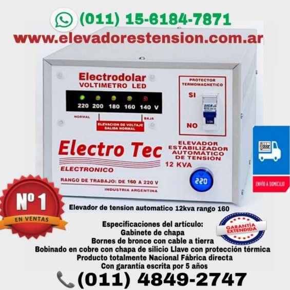 Elevadores de tensión 16000 watts