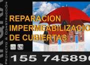 Impermeabilización y reparación de cubiertas.