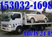 Gruas + Remolques + ((1130321698)) + En + Floresta + Auxilio de Autos 24 hs