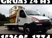 Gruas + Remolques + ((1136051774)) + En + Liniers + Auxilio de Autos 24 hs