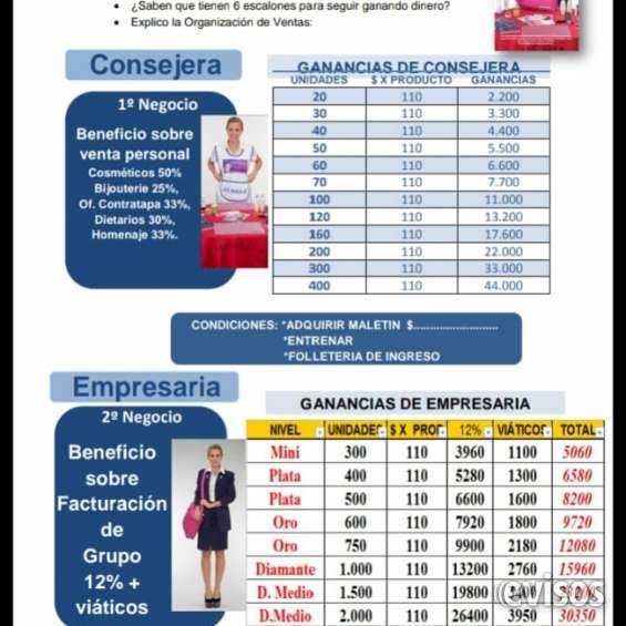 Monique, incorpora vendedoras, 50% gcia (011)15-5123-0701