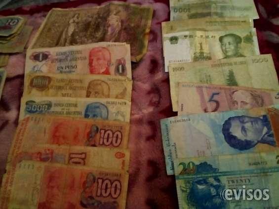 Vendo billetes viejos y monedas