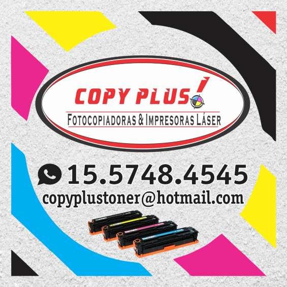Fotocopiadoras e impresoras laser: servicio técnico, venta y alquiler