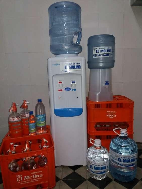 Vendo reparto de soda y agua de mesa