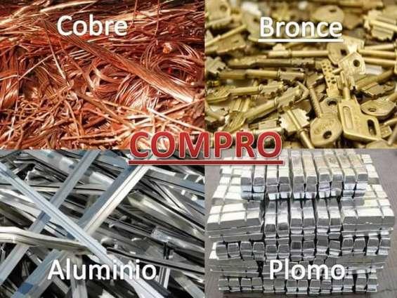 Nos dedicamos ala compra y venta de metales , plasticos