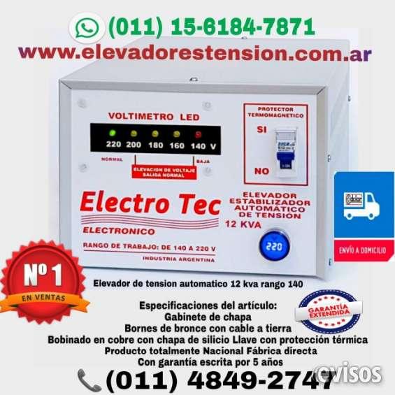 Elevador de tension 14 kva 011-4849-2747 en tortuguitas