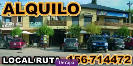 Funes:centro s/ruta ! $9300 amplio local ,gratis: internet,aguas,api....alquiler con opcio