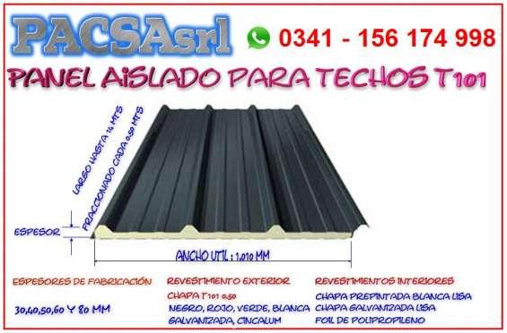 Panel t101 para techos