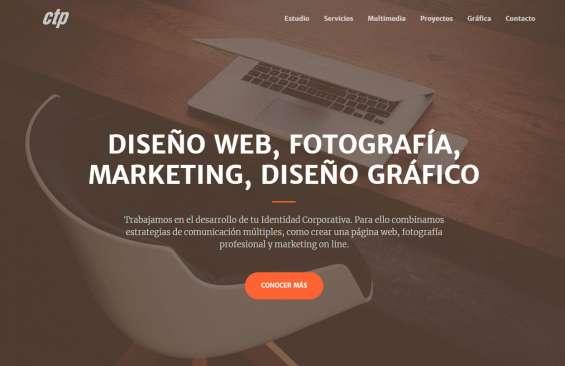 Estudio de diseño en la plata - marketing, fotografia, diseño web y grafico