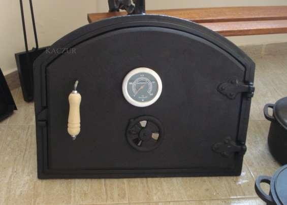 Fotos de Puerta para horno de barro fundicion de hierro kaczur 3