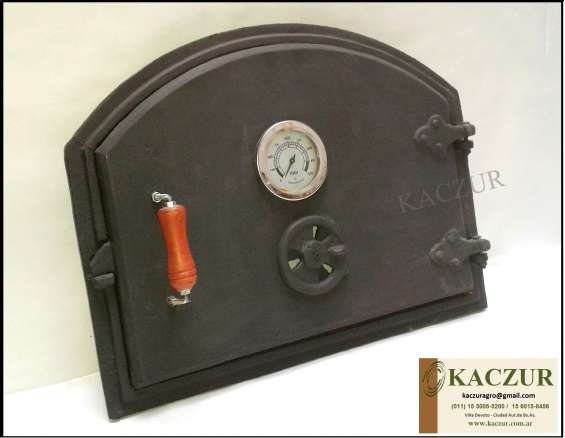 Fotos de Puerta para horno de barro fundicion de hierro kaczur 4
