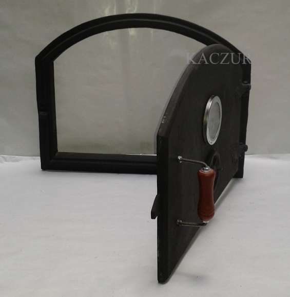 Fotos de Puerta para horno de barro fundicion de hierro kaczur 2