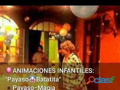 Animacion de fiestas infantiles-  cel y wspp  156876-4513