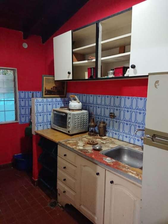 Cocina - espacio para lavarropas en el extremo