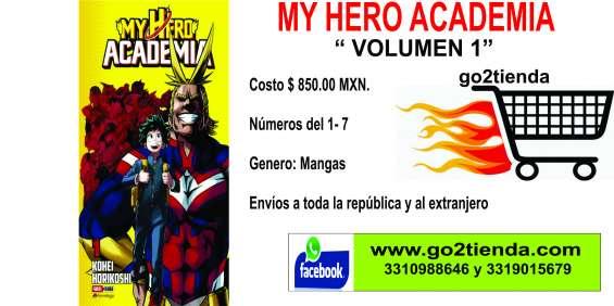 """My hero academya mangas """"volumen 1"""""""