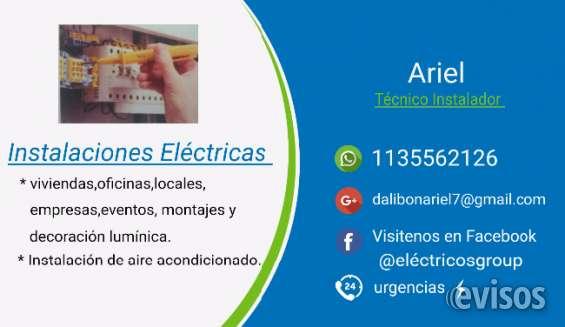 Técnico instalador electricista