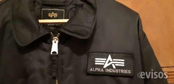 Vendo campera alpha negra