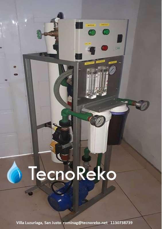 Osmosis inversa 7.200 lts/dia