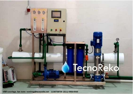 Osmosis inversa 80.000 lts/dia.