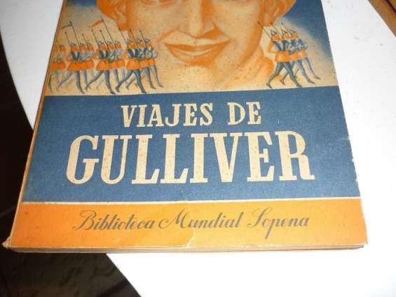 Vendo edición antigua de viajes de gulliver, de jonathan swift