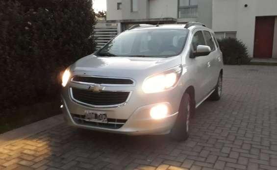 Chevrolet spin 1.8 ltz 2015 c/gas listo para transferir !