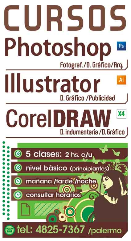 Curso photoshop cc corel draw 2019 illustrator cc $2900 c/uno /clases particulares