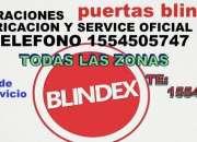 URGENCIAS PUERTAS BLINDEX  TODAS LAS ZONAS TE: 1554505747