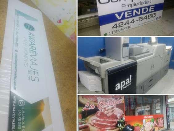Offset digital - tarjetas - folletos - flyers - manuales - cuadernos- imanes - diplomas