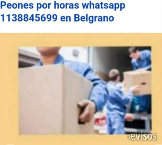 Peones por horas en belgrano r 1138845699