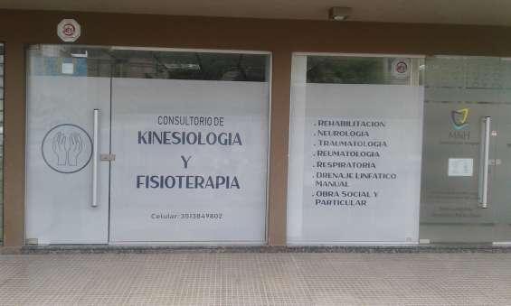 Consultorio de kinesiología y fisioterapia