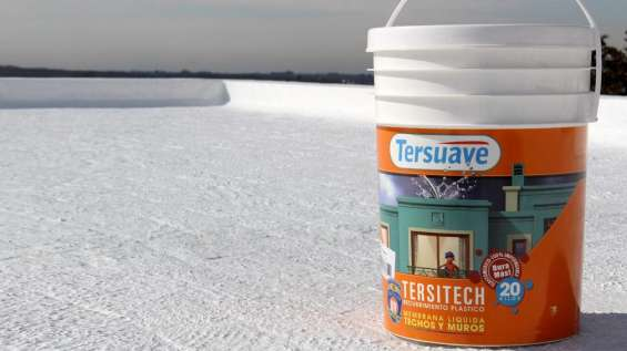 Impermeabilizante tersitech, recubrimiento para techos y muros