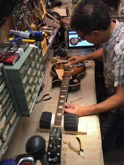 Reparacion de equipos para musicos