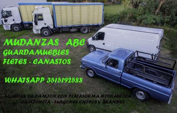 Fotos de Mudanzas guardamuebles y fletes abc 5