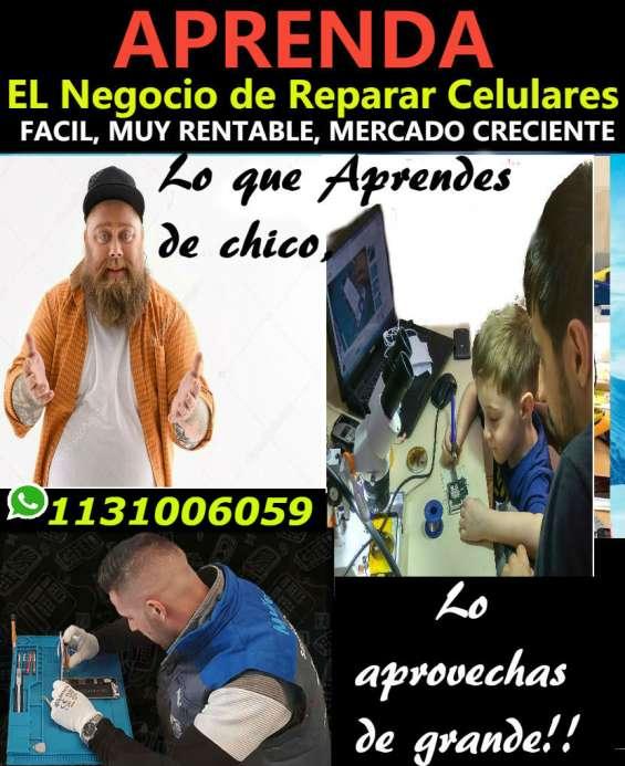 Aprenda el negocio de reparar celulares y tablets