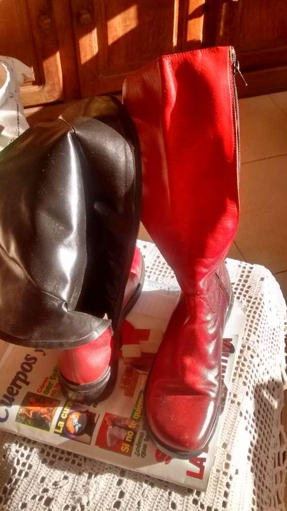 Fotos de Botas altas forrad  brasil rojociruela 37 1.100$