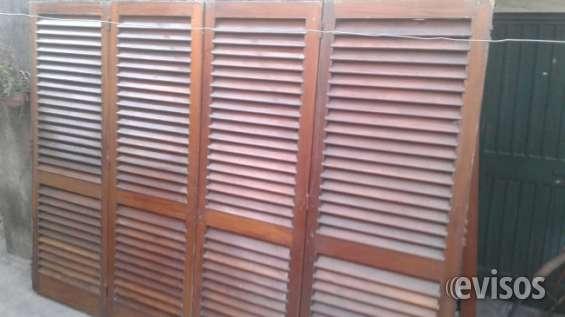 Puertas de cedro para garage,excelente estado