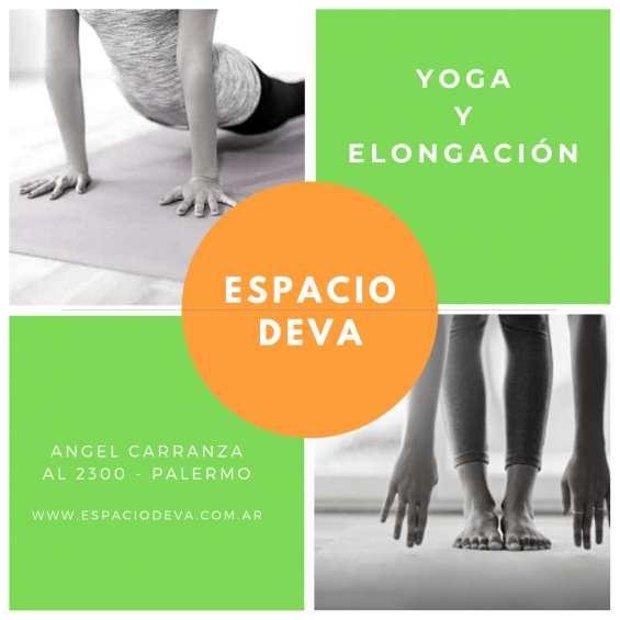 Clases de yoga en palermo. espacio deva