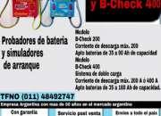 Probadores de baterías Dólar  (011) 4849-2747