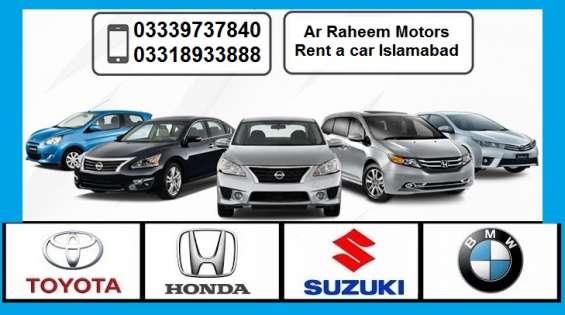 Rent a car in islamabad | ar raheem motors rent a car